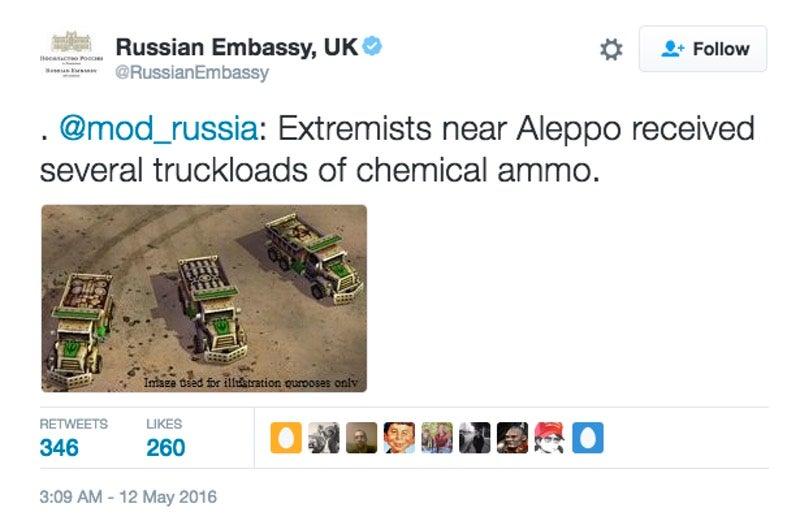 Russische ambassade