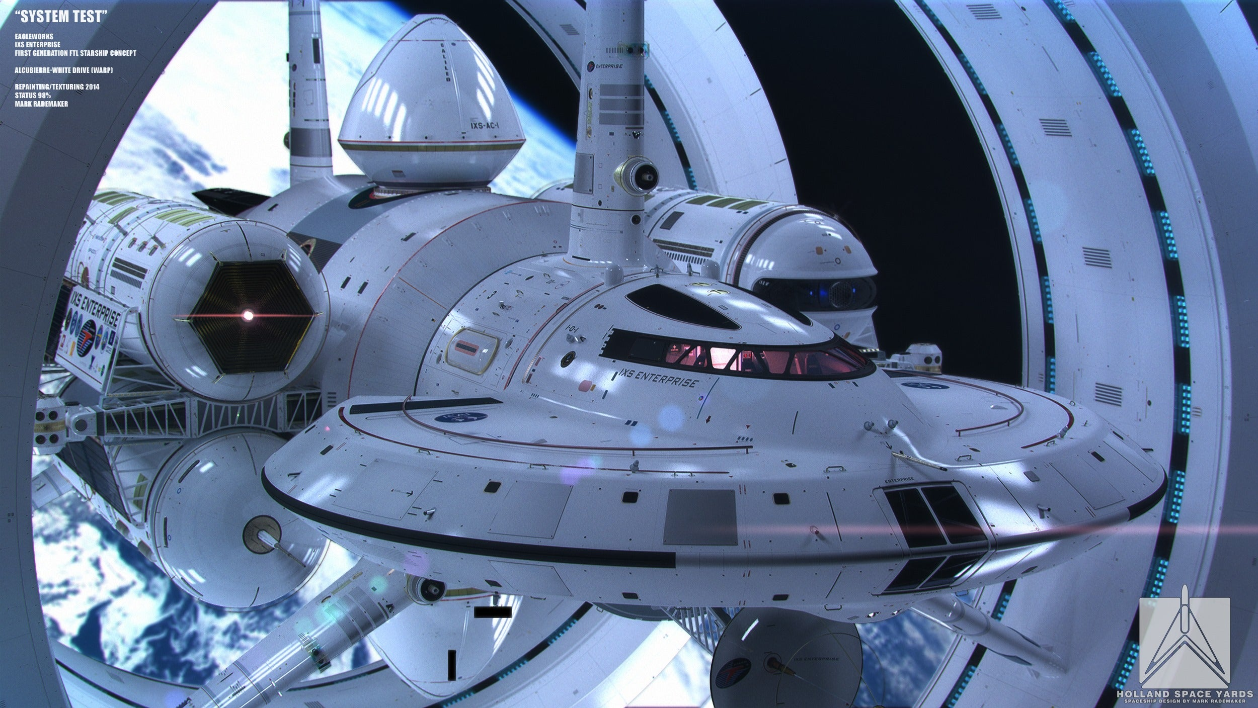 Here's NASA's New Design for a Warp Drive Ship