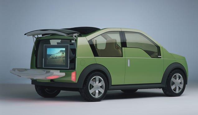 Predijo el Ford 24.7 Concept Car Aplicaciones Años Antes Smartphones
