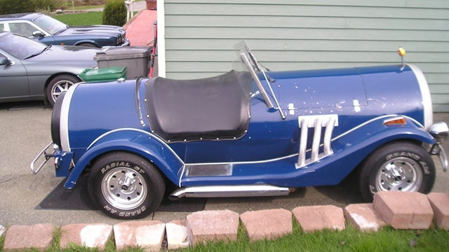 Grab a cold one with this custom beer can car