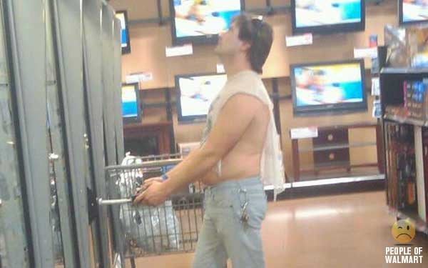 Walmart Gadget Shoppers Sometime Look Like THIS