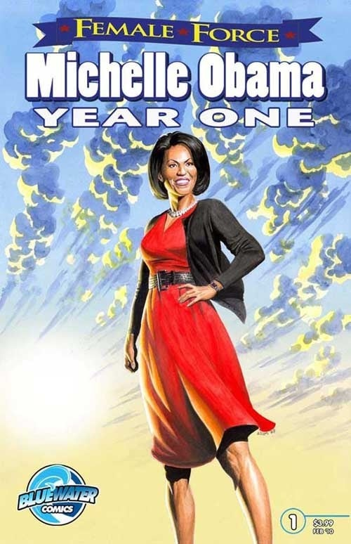 Another Thrilling Issue Of Michelle Obama's Female Force Comic