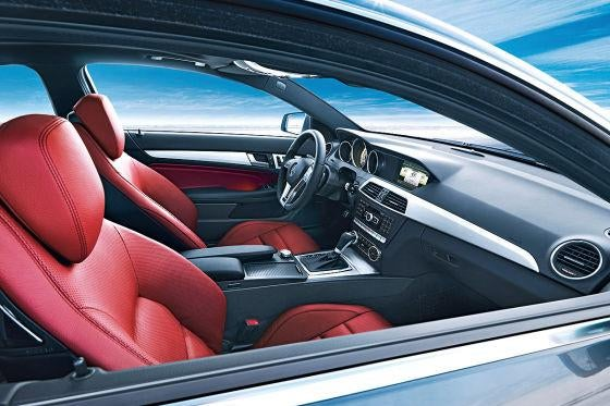 2012 Mercedes C-Class Coupe Gets Kinky