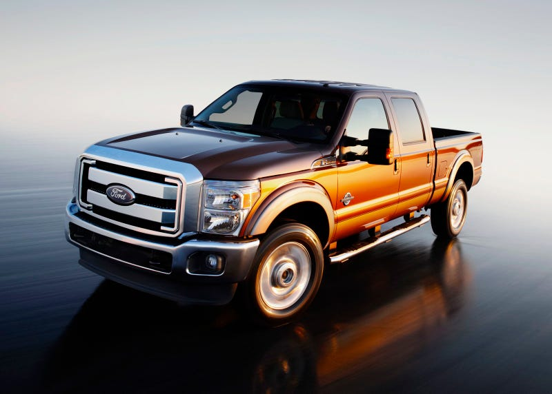 2011 Ford Super Duty: The New Power-Stroking Pickup