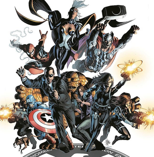 The Agents of SHIELD Are Joining The Official Marvel Comics Universe