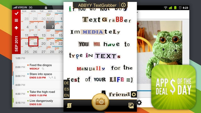 Daily App Deals: Convert Images to Text with TextGrabber, Now 50% Off