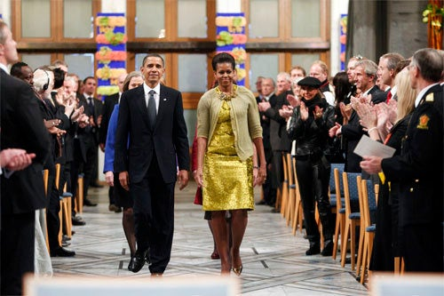 Obama's Nobel Speech Ruminates On Morality, Warfare