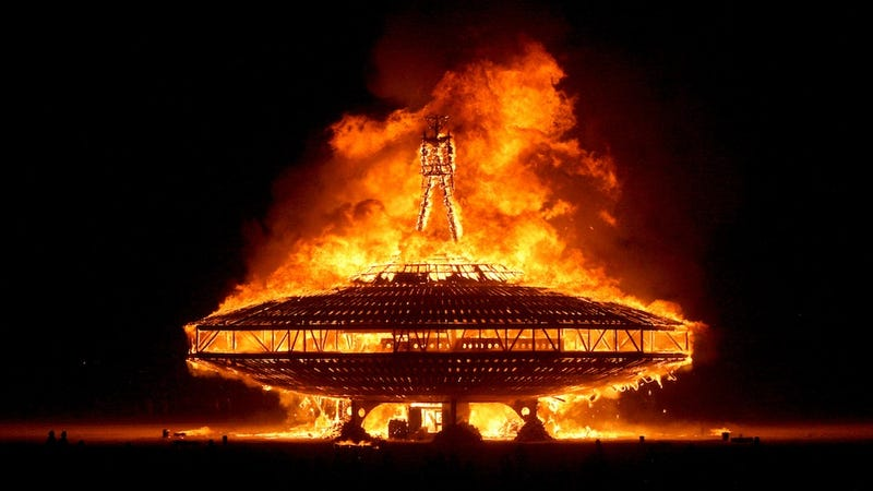 Take a Stunning Drone's-Eye Tour of Burning Man