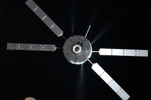 The Space Station Had to Change Its Orbit to Avoid Space Junk