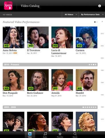 Met Opera App Gallery