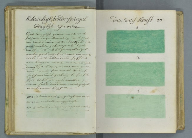 Who Painted This 300-Year-Old Guidebook to Every Imaginable Color?