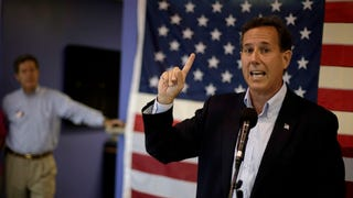 Rick Santorum Would Like to Clarify That He Is Indeed Still a Dick