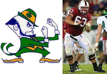 Stanford Lineman Does Not Like Notre Dame