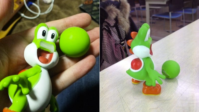 Yoshi Looks So Weird without a Nose