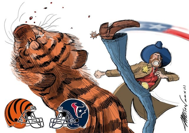 Pixar animator recaps the NFL season as epic comic battles