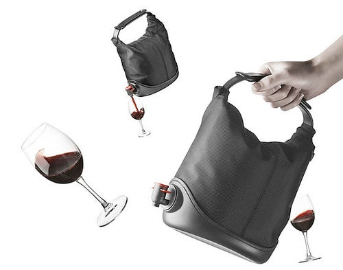 Wine Tastes Best When It's In a Bag