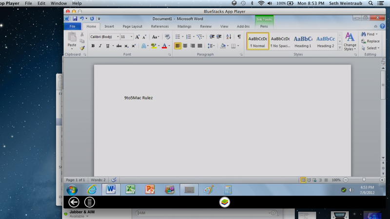 How to Run OnLive's Remote Microsoft Office on OS X, For Free