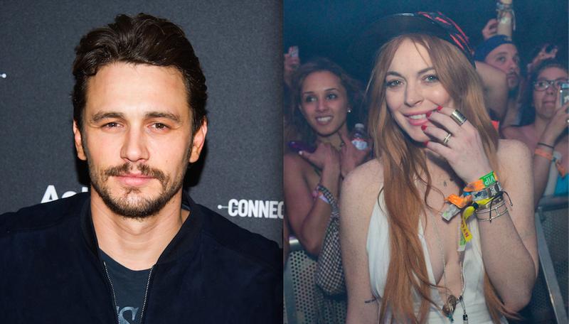 James Franco: Lindsay Lohan Stalked Me After We Made Out