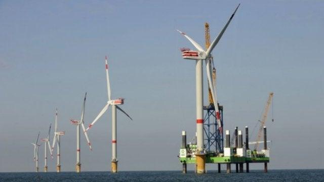 World's Most Powerful Offshore Turbine Catches Wind Gusts Two Soccer Fields Wide
