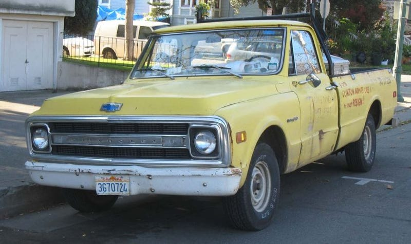 1970 Chevrolet C10 Pickup Truck, With Bonus 90s Political Flashbacks