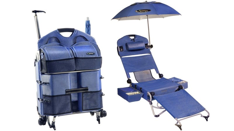 $260 Portable Lounge Chair ISO Professional Beach Bum