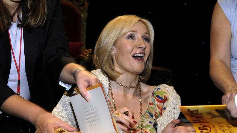 And the Title of J.K. Rowling's New Book Is [SPOILER ALERT]