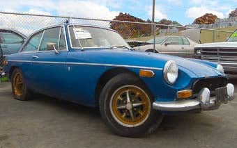 Pick-N-Pull: Buy This MGB-GT Today Or We'll Feed It To The Cruel Jaws Of The Crusher!