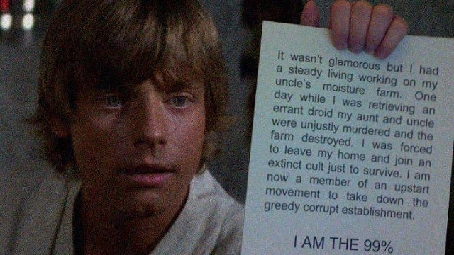 Can anybody in the Star Wars universe read and write? At all?