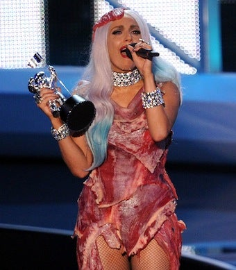 Lady Gaga's Meat Dress Now a Metaphor for Gay Rights