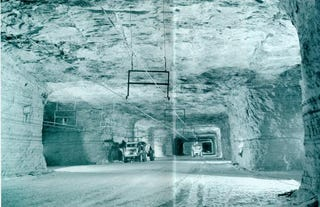 The vast, abandoned salt mines that lurk beneath Detroit