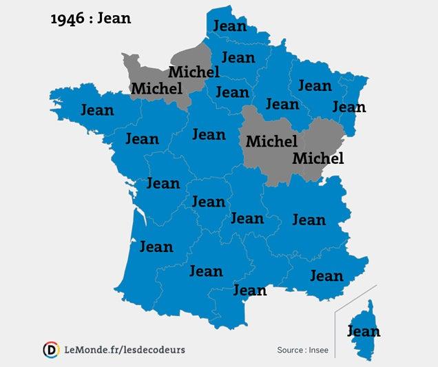 Emma, Emma, Emma: Six Decades of France's Most Popular Baby Names
