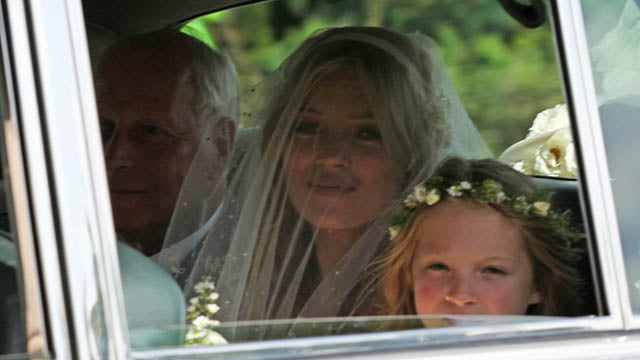 Kate Moss And Jamie Hince Tie The Knot