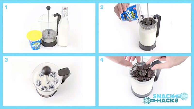 The Greatest Innovation in Oreo Dunking Since Milk