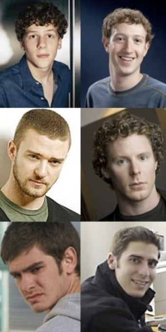 Facebook Movie Cast Not Quite Geeky Enough