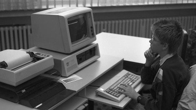 30 Years Ago Today, IBM Released Its First PC Before Most People Had Any Idea What that Meant