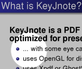 KeyJnote Turns Your PDFs Into Powerful Presentations