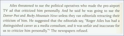 Roger Ailes' History Of Media Manipulation