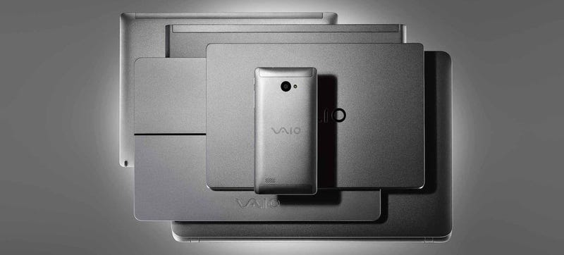 The VAIO Phone Biz Is a Sleek Windows Phone That Nobody Needs