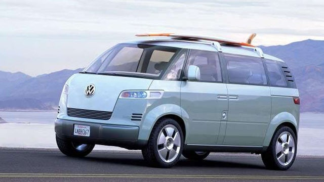 The VW Bulli Concept is the new Microbus