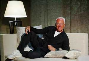 Giorgio Armani: Not Just Chic, But Fluent In Yiddish
