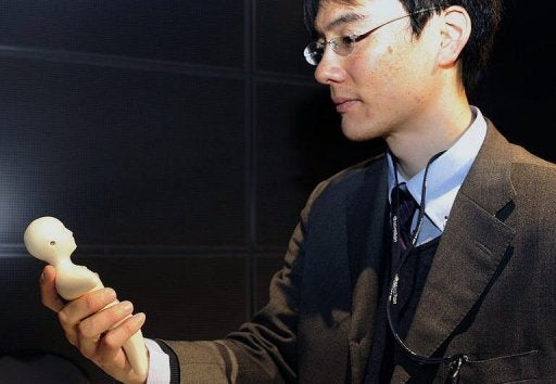 I Am Not Talking on a Human-Shaped Phone That Feels Like Skin