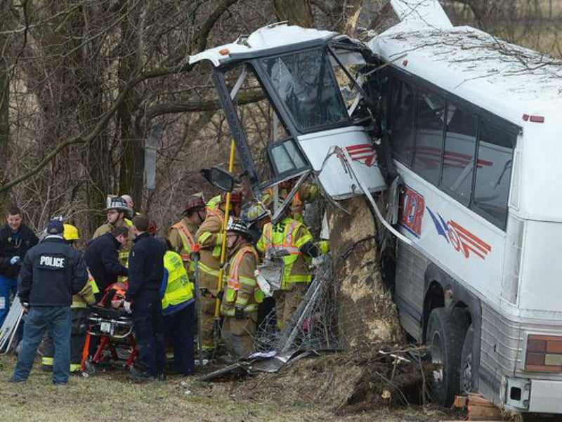 College Lacrosse Team Bus Crashes, Leaving Two Dead