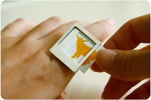 The Polaroid Ring