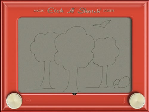 Shake Those iPads Clean and Make Way For the $3 Etch A Sketch HD App