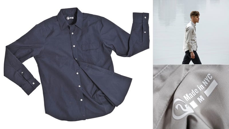 Look Cool and Keep Dry in This Wind-Proof, Water-Proof Shirt