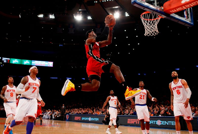LeBron Considering Magic Johnson's $1 Million To Compete In The Dunk Contest