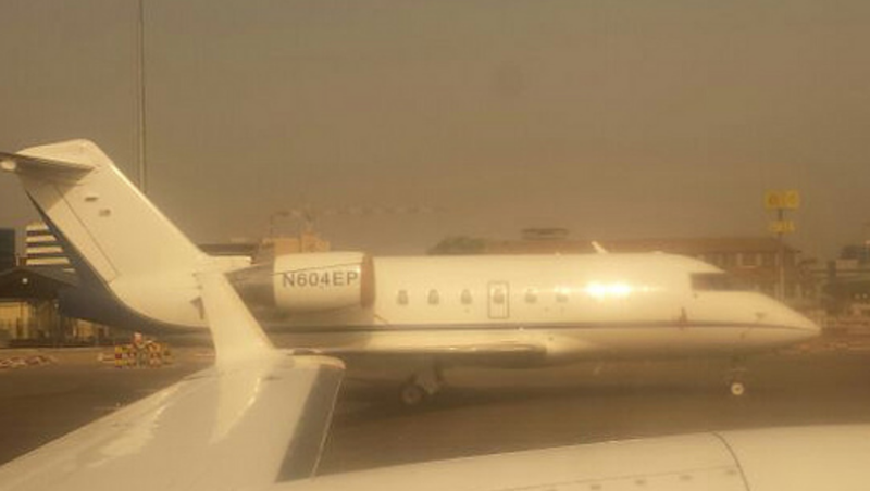 Mysterious American Private Jet Spotted in Tehran