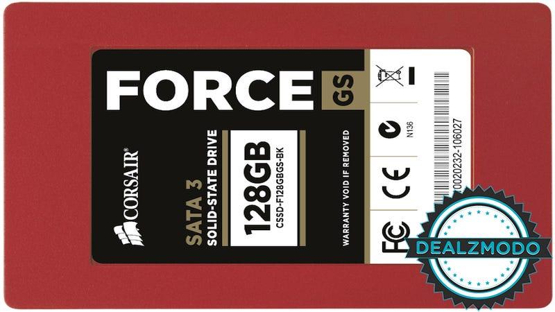 Dealzmodo: Corsair SSD, Humble Origin Bundle, Griffin Earbuds, Storage