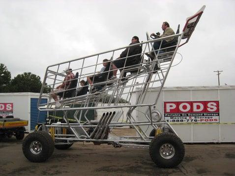 Mopowered Shopping Cart