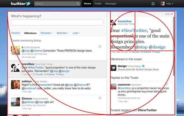 Fibonacci Sequence In Design Why Twitter s New Design Might
